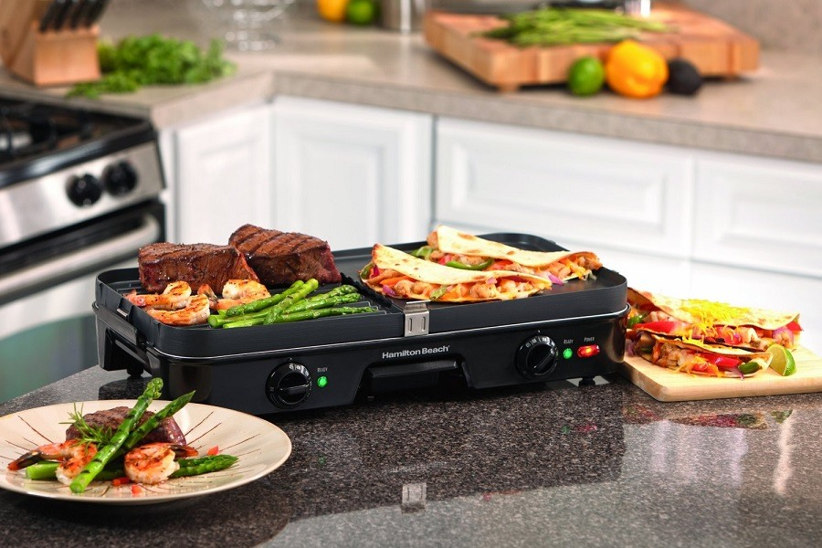 The Hamilton Beach 38546 3-in-1 Grill/Griddle