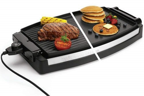 The Dual Plate Reversible Griddle Grill