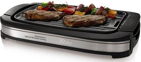 Oster-CKSTGR3007-ECO-DuraCeramic-Reversible-Grill-and-Griddle-topelectricgriddles.com