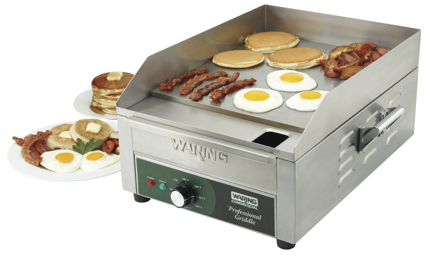 Waring Commercial WGR140 120-volt Electric Countertop Griddle