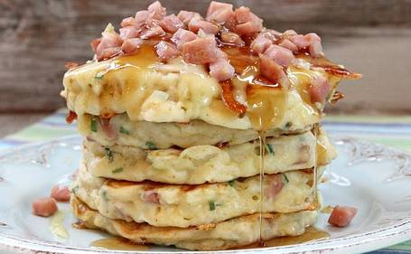 Ham-and-Swiss-Griddle-Cakes-topelectricgriddles.com