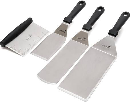 28-Best-Spatula-for-Flipping-Pancakes-Anmarko-Professional-Stainless-Steel-Set-Pancake-Flipper