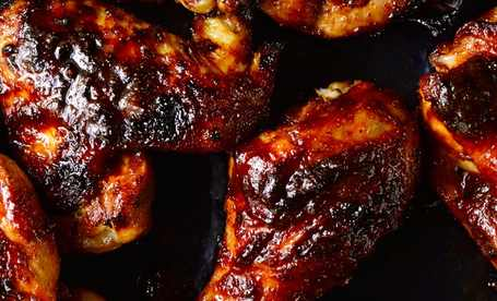BBQ-chicken-on-griddle