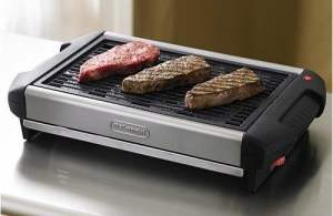 types-of-smokeless-indoor-grilss-open-countertop-grill