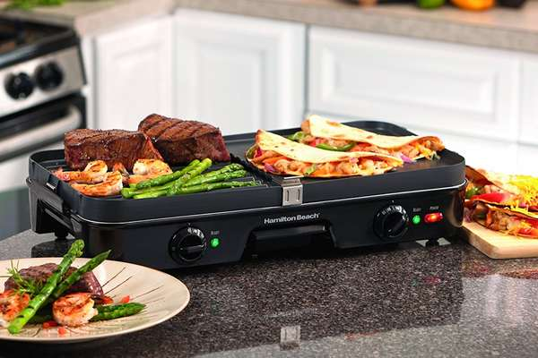 how to use electric grill top
