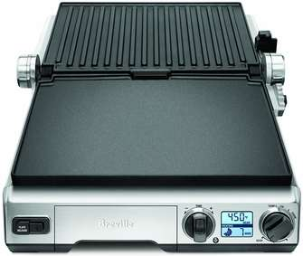 Breville-BGR820XL-Smart-Residential-Indoor-Flat-Top-Grill-opened