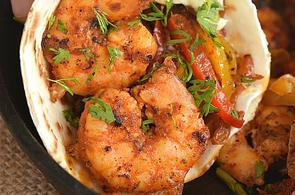 Shrimp-Fajitas-on-a-Griddle